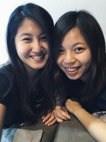 和我的干姐姐。
